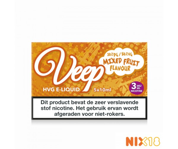Veep Mixed Fruit 5x10ml HVG