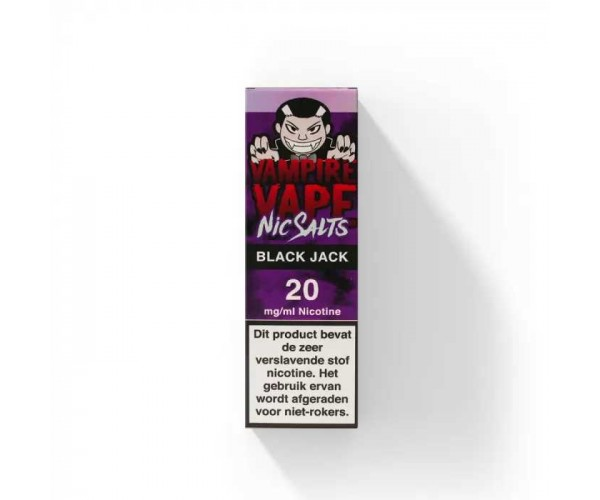 Vampire Vape - Black Jack - Ns/10MG of 20/MG
