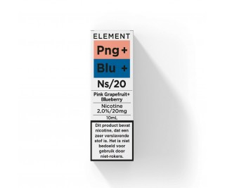 Element - Nic Salts - Pink Grapefruit Blueberry – Ns/20MG