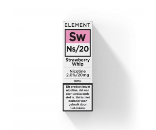 Element - Nic Salts - Strawberry Whip – Ns/20MG
