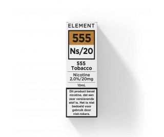 Element - Nic Salts - 555 Tobacco – Ns/20MG