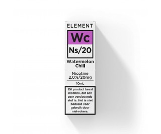 Element - Nic Salts - Watermelon Chill – Ns/20MG