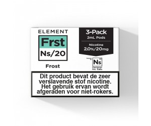 Element – Frost – NS20 POD 3 x 2ML 20MG