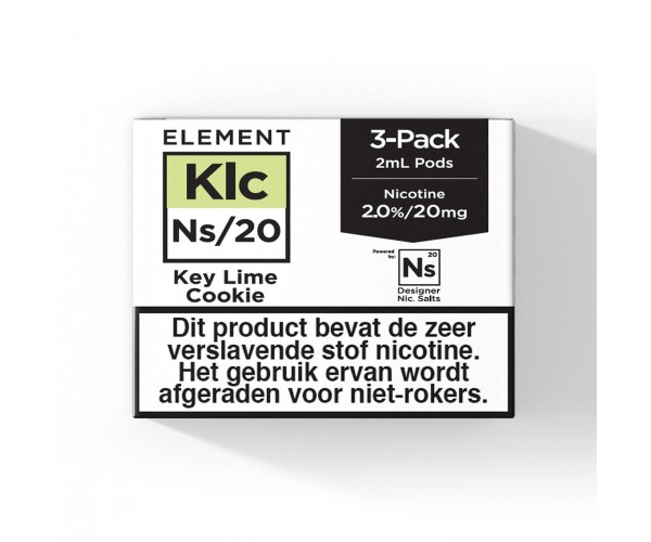 Element – Key Lime Cookie – NS20 POD 3 x 2ML 20MG