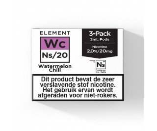 Element – Watermelon Chill – NS20 POD 2ML 3 x 20MG