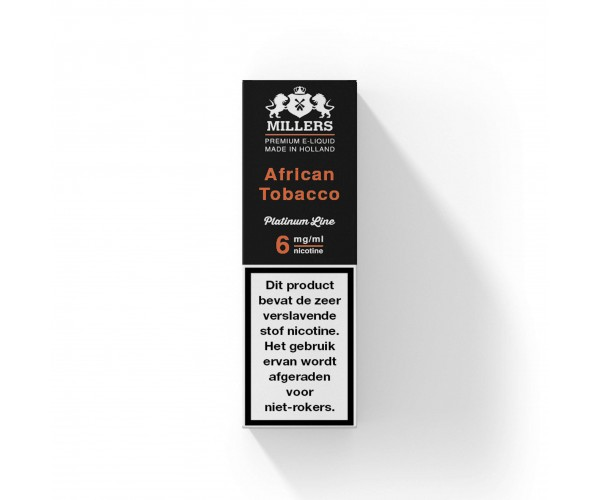 Millers Platinumline African Tobacco
