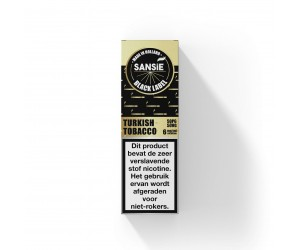 Sansie Black Label - Turkish Tobacco