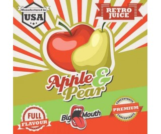 BIG MOUTH RETRO JUICE: APPLE and PEAR