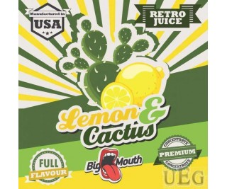 BIG MOUTH RETRO JUICE: LEMON and CACTUS