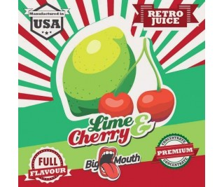 BIG MOUTH RETRO JUICE: LIME and CHERRY