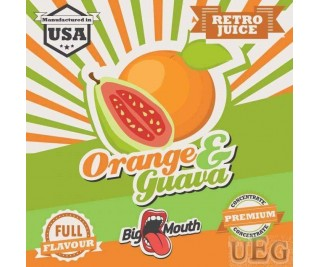 BIG MOUTH RETRO JUICE: ORANGE and GUAVA