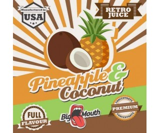 BIG MOUTH RETRO JUICE: PINEAPPLE and COCONUT