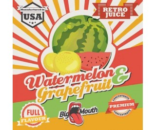 BIG MOUTH RETRO JUICE: WATERMELON and GRAPEFRUIT