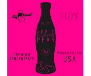 BIG MOUTH FIZZY: APPLE | DRAGON FRUIT | PEAR