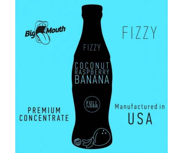 BIG MOUTH FIZZY: COCONUT | RASPBERRY | BANANA