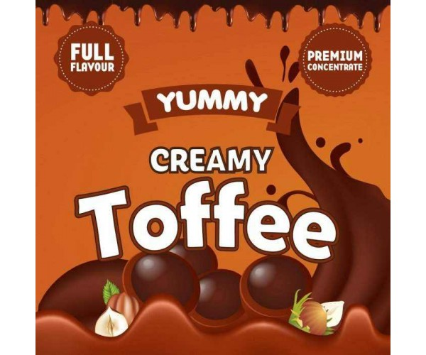 BIG MOUTH YUMMY: CREAMY TOFFEE