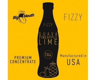 BIG MOUTH FIZZY: GUAVA | PINEAPPLE | LIME