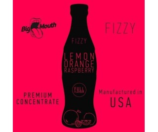 BIG MOUTH FIZZY: LEMON | ORANGE | RASPBERRY