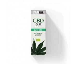 CanOil CBD Olie 2.5% (250MG) - 10ML Full Spectrum CBD