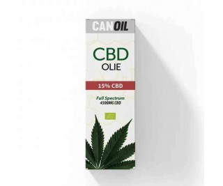 CanOil CBD Olie 15% (4500MG) - 30ML Full Spectrum CBD