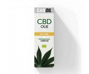 CanOil CBD Olie 5% (1500MG) - 30ML Full Spectrum CBD
