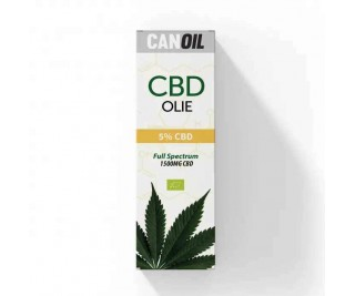 CanOil - CBD Olie 5% (500MG) - 10ML - Full Spectrum - CBD (Olijf Olie)
