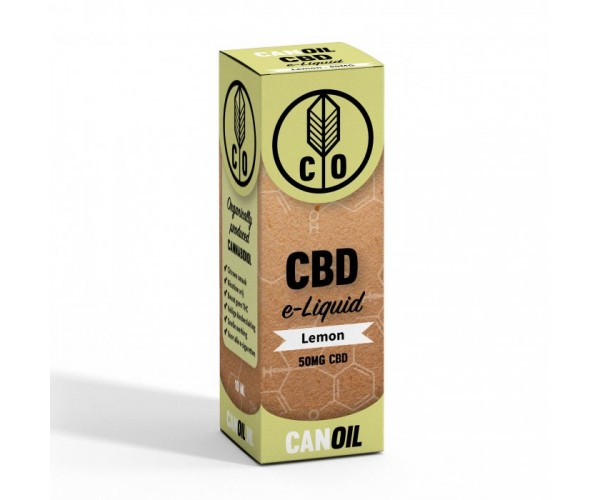 Canoil CBD E-liquid Lemon 100MG CBD