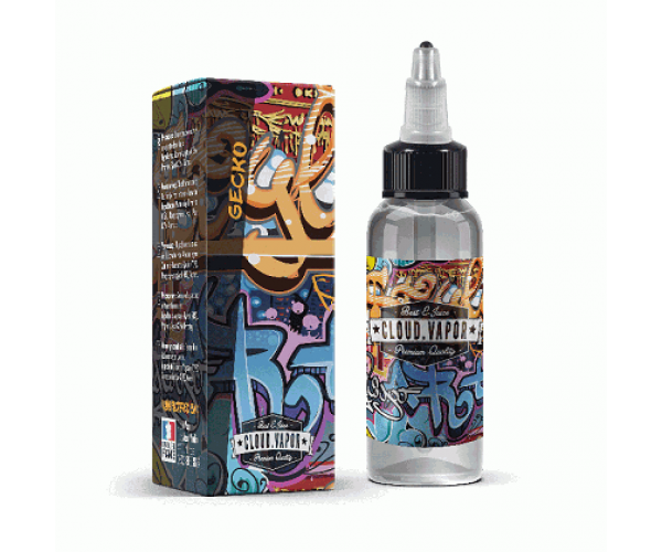 Cloud Vapor Gecko - Shake & Vape 60ML