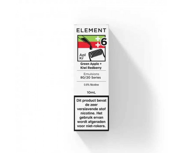Element - Emulsions Dripper - Green Apple met Kiwi Redberry