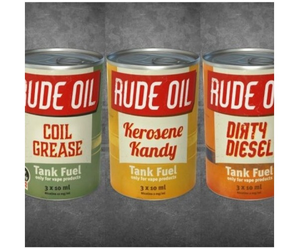 Rude Oil - Coil Grease - 3 x 10ml