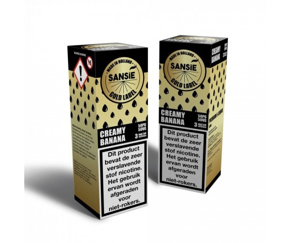 Sansie Gold Label - Creamy Banana