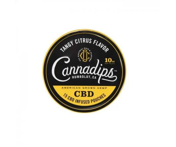 CannaDips - Tangy Citrus Flavor - (15 St.) 10MG (16% CBD)