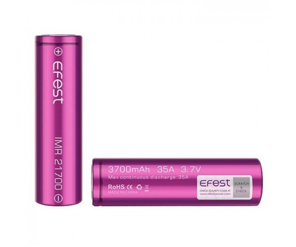 Efest 21700 batterij 3700mAh 35A