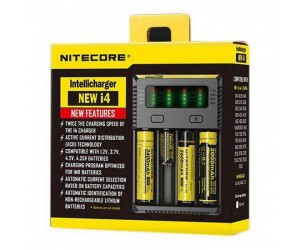 Nitecore Intellicharger New i4 batterij oplader