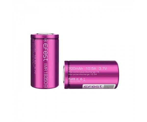 Efest IMR 18350 Batterij 700mAh 10.5A