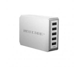 Nitecore UA55 5-Poort USB Wall Charger
