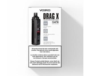 Voopoo Drag X Mod POD - 80W Startset