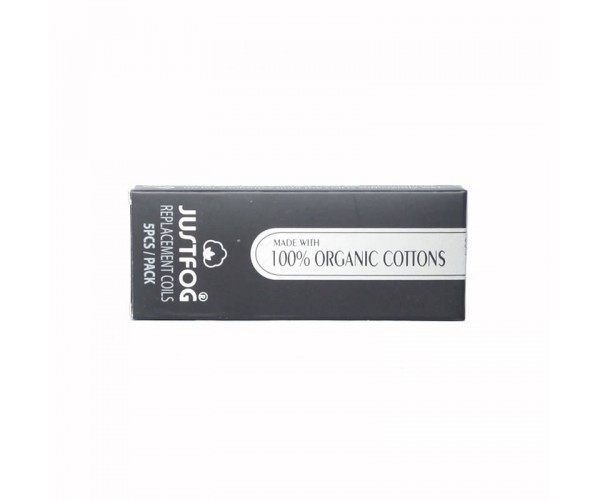 Justfog 14 serie 100% organic cotton coils (5st)