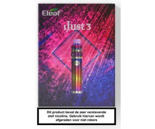 Eleaf iJust 3 startset + Ello Duro Clearomizer Startset
