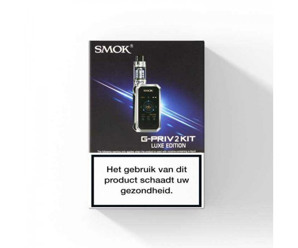 SMOK G-Priv 2 met TFV12 Prince Clearomizer Luxe Edition - 230W Startset