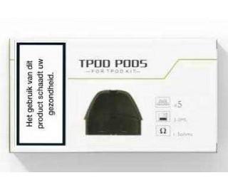 Teslacigs TPOD vervangende POD's - 2ML - (3 St.)