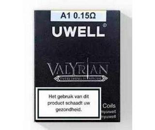 Uwell Valyrian Coils (2 stuks) 0.15Ohm