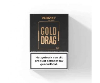 Voopoo Gold Drag + Uforce Clearomizer - 157W Startset