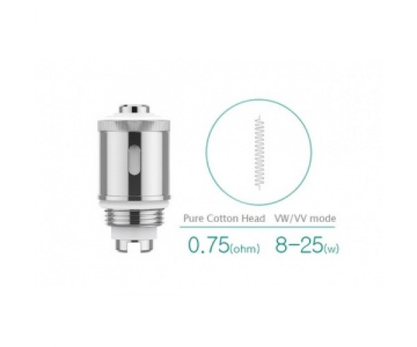 Eleaf GS-Air 2 Pure Cotton Head (0.75ohm)
